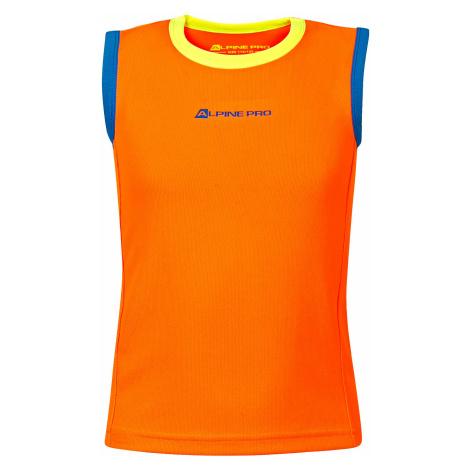 Dětské tílko Alpine Pro TAKRO 3 - oranžová