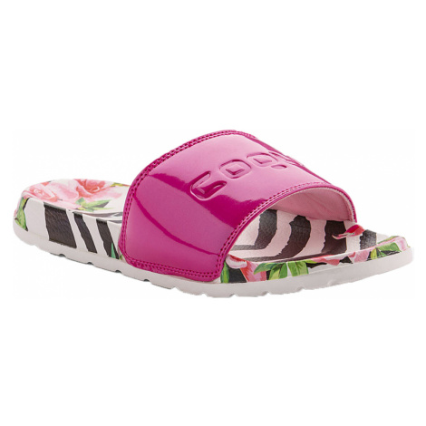 COQUI CLEO Dámské pantofle 7062-595 Flamingo/Lt. fuchsia