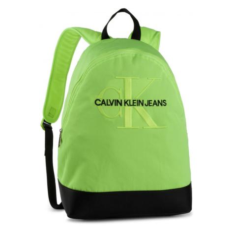 Calvin Klein neonově zelený uni batoh