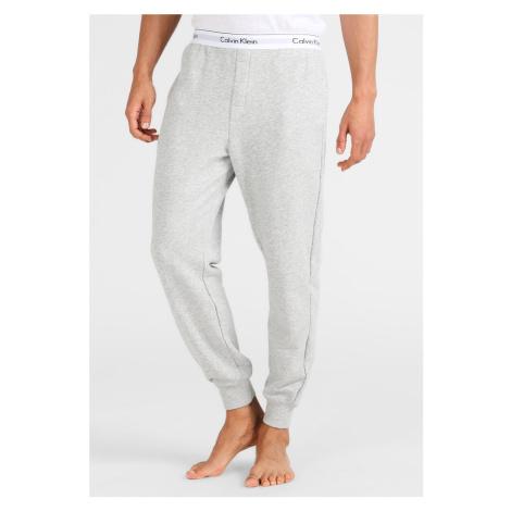Calvin Klein Modern Cotton Tepláky pánské - šedé