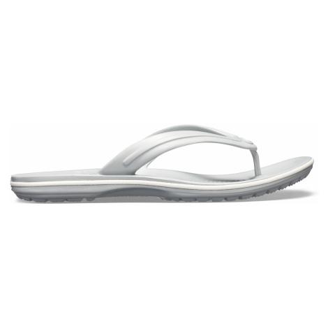 Crocs Crocband Flip Light Grey/White