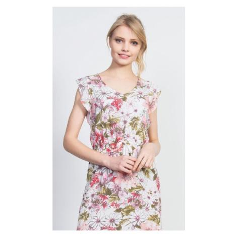 Dámské šaty Ema, XL, lososová Vienetta Secret