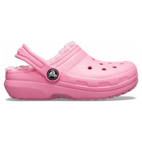 Crocs Classic Lined Clog K Pink Lemonade/Pink Lemonade J3