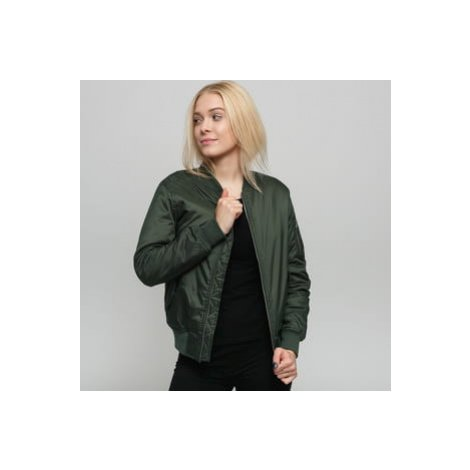 Urban Classics Ladies Basic Bomber Jacket olivová