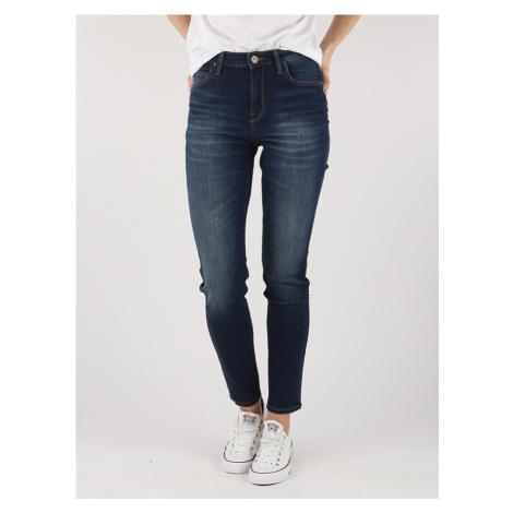 Scarlett High Jeans Lee Modrá