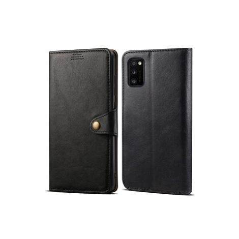 Lenuo Leather pro Samsung Galaxy A41, černé