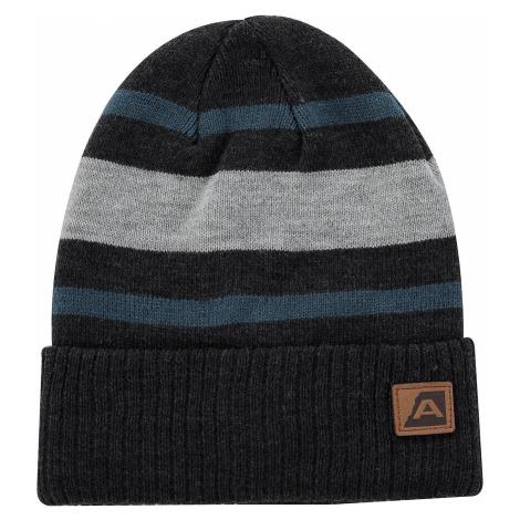Zimní čepice Alpine Pro BAKARNE - šedo-modrá