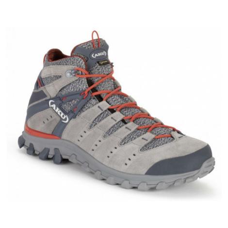 Pánská obuv AKU Alterra Lite GTX Mid šedo/červená