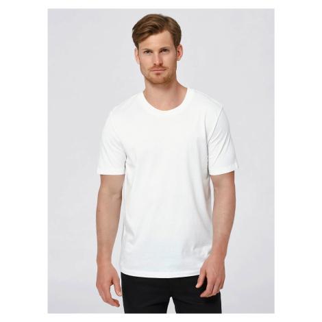 Bílé basic tričko Selected Homme The Perfect