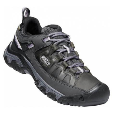 KEEN TARGHEE III WP W Dámská nízká treková obuv 10008048KEN01 black/thistle