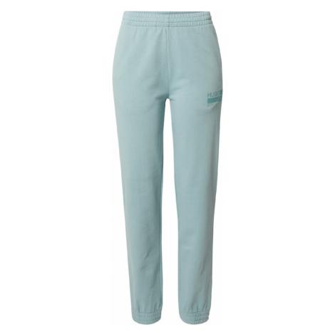 HUGO Kalhoty pastelově zelená Hugo Boss