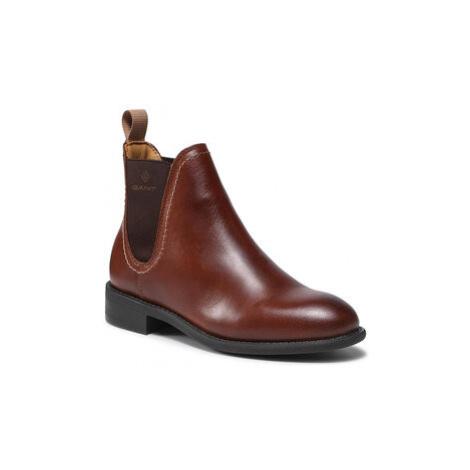 Kotníková obuv s elastickým prvkem Gant