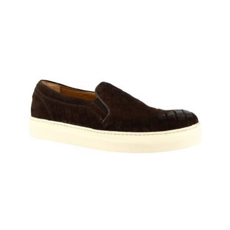 Leonardo Shoes 7002 _5 CAMOSCIO TM Hnědá
