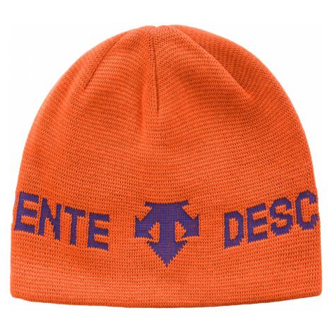Čepice DESCENTE oranžová