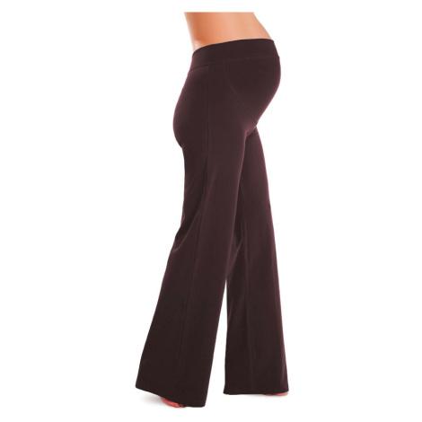 LITEX Těhotenské kalhoty (legíny) Litex 99412414 hnědá