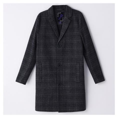 Cropp - Kostkovaný kabát