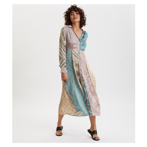 Šaty Odd Molly Radiant Shirt Dress - Různobarevná