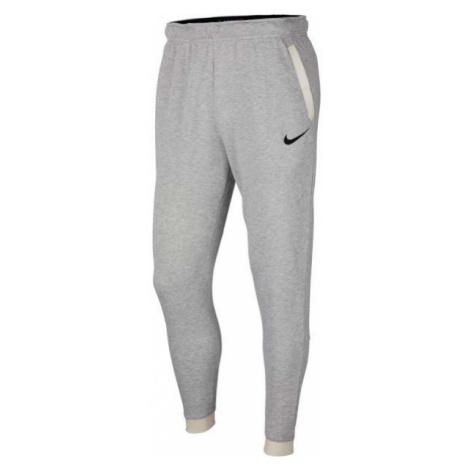 Nike DRY PANT TAPER FLEECE šedá - Pánské tepláky