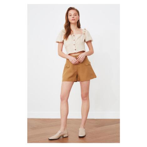 Trendyol Camel Pocket Detailed Shorts & Bermuda