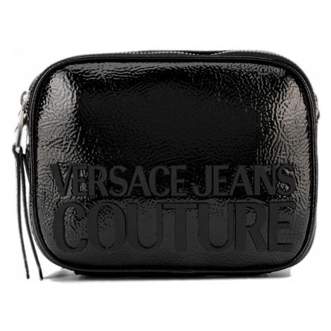 Černá lakovaná kabelka VERSACE JEANS COUTURE