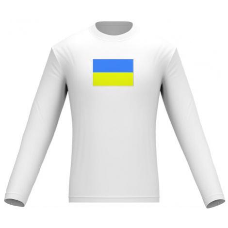 Pánské tričko dlouhý rukáv Ukrajina