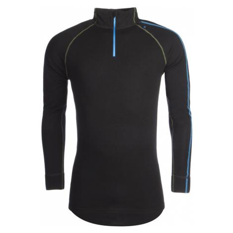 ALPINE PRO GENET 2 Pánské spodní triko - merino MUNM039990PB černá