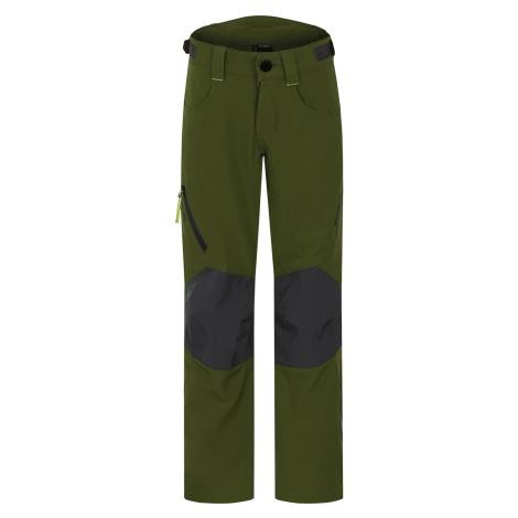 Husky Zony K, tm.zelená Dětské outdoor kalhoty