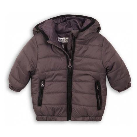 Šedá chlapecká zimní bunda kojenecká Gaffney Pidilidi