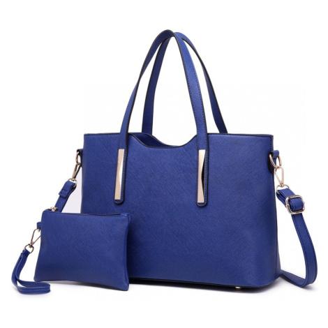 Modrý dámský kabelkový set 2v1 Triel Lulu Bags