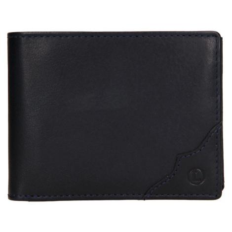 Pánská kožená peněženka Lagen Milan - modrá