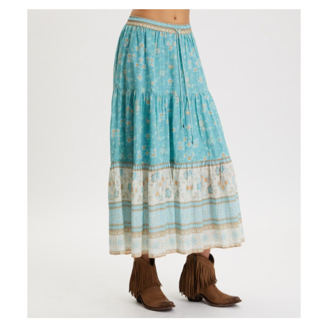 Sukně Odd Molly Bohemic Skirt - Modrá