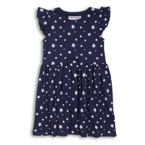 Minoti Šaty dívčí bavlněné, Minoti, 2KDRESS10, tmavě modrá