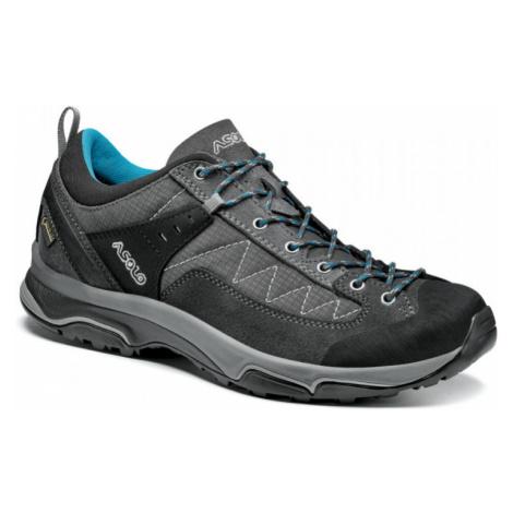 Dámské boty ASOLO Pipe GV ML graphite/graphite/cyan blue UK