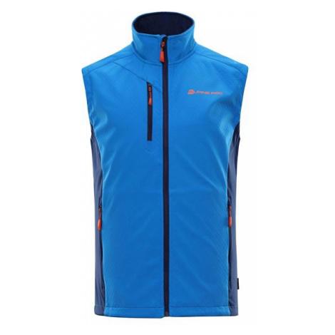 Asklepios 7 modrá pánská vesta ALPINE PRO