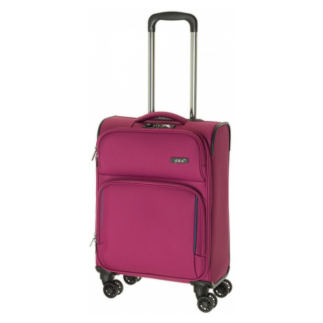 Cestovní kufr d&n S 7954-04 32 L fialová