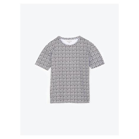 GATE Potištěné tričko s krátkým rukávem