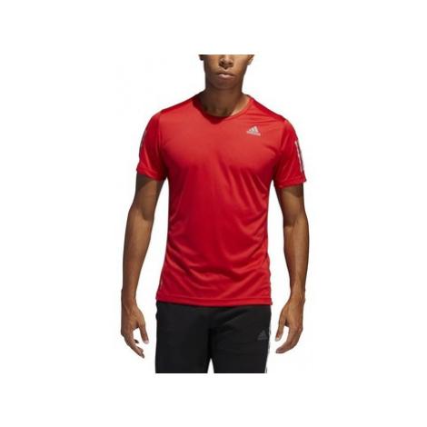 Adidas Own The Run Tee Červená