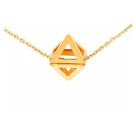 Vuch Dámský náhrdelník Triangle Gold