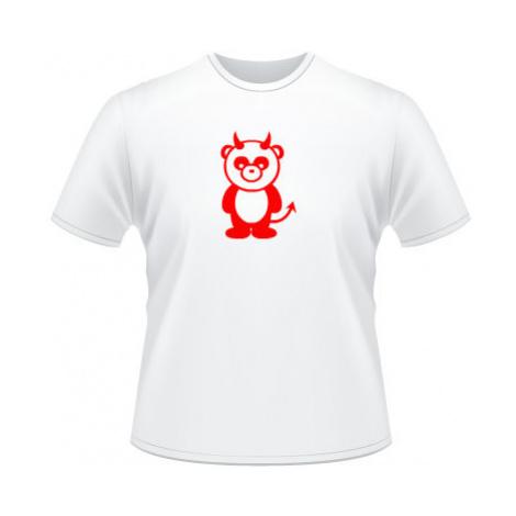 Pánské tričko SuperStar Panda čertík