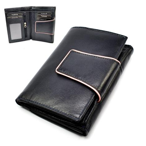 Stylová dámská peněženka modrá Cavaldi