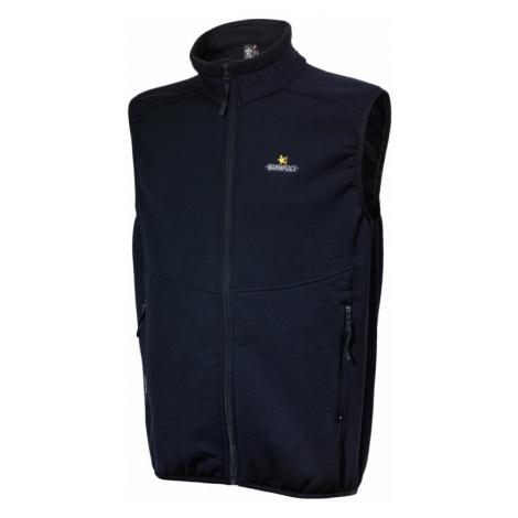 Pánská vesta Warmpeace Outward Powerstretch black