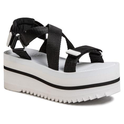 Sandály TOMMY JEANS - Pop Color Flatform Sandal EN0EN00847 Black BDS Tommy Hilfiger