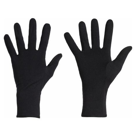 Rukavice ICEBREAKER Adult 260 Tech Glove Liner, Black Icebreaker Merino