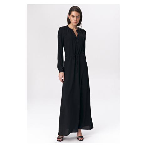 Černé šaty S135 Nife