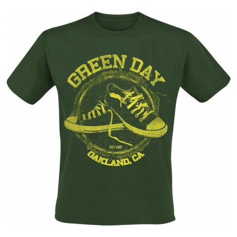 Green Day All Star tricko zelená