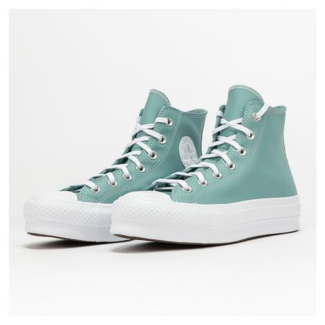 Converse Chuck Taylor All Star Lift Hi soft aloe / white / white eur 36.5