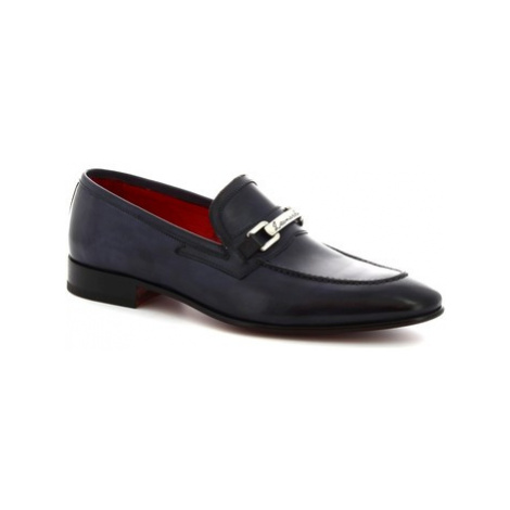 Leonardo Shoes 7675 MONTECARLO BLU Modrá