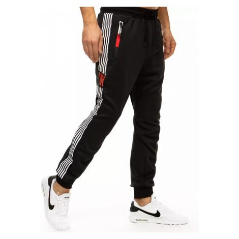 Black men's sweatpants UX2985 DStreet