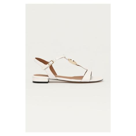 Emporio Armani - Kožené sandály