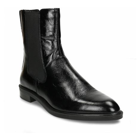 Černá kožená dámská obuv v Chelsea stylu Vagabond